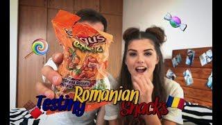 🍭🇷🇴 Опитваме Румънски Сладки | 🍭🇷🇴Testing Romanian Snacks