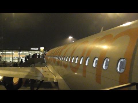 Easyjet Airbus A319-111 | Night Departure from Copenhagen Airport