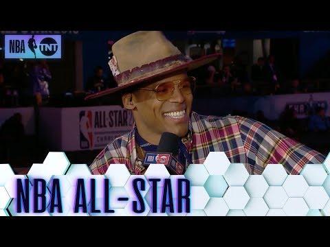Cam Newton Joins the Desk | NBA on TNT