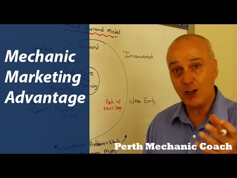 Mechanic Marketing Advantage - Perth Mechanic Coach