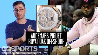 Watch Expert Critiques Athletes' Watches (NBA, NFL, Tennis) | Game Points | GQ Sports