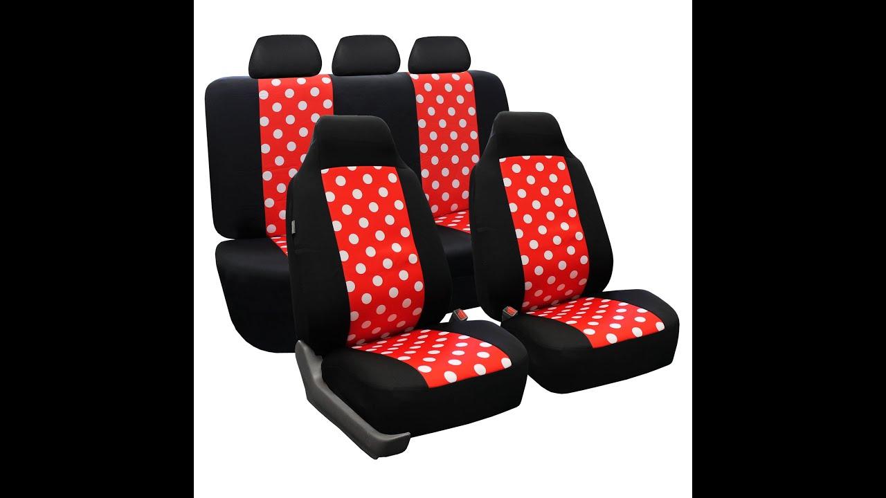 Polka Dot Seat Covers