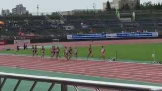 2015 北海道全中 陸上競技 男子1500m 決勝