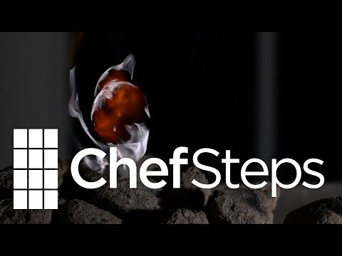 Download Youtube: Fat Flare Up on Charcoal • High Speed Video • 5000 FPS