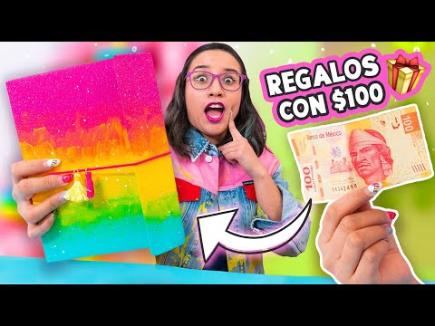 Reto REGALOS De NAVIDAD Con $100 Pesos O Menos ✄ Craftingeek