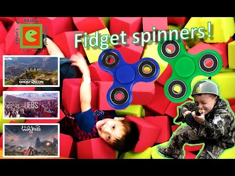 Ethan on Ghost Recon: Wild lands; UEBS; Halo Wars 2 & Fidget spinning summer fun |