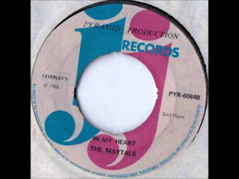 The Maytals In My Heart - JJ Records