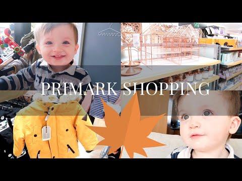 SHOPPING IN PRIMARK HOME & BABY | SammyBird | Vlogtober