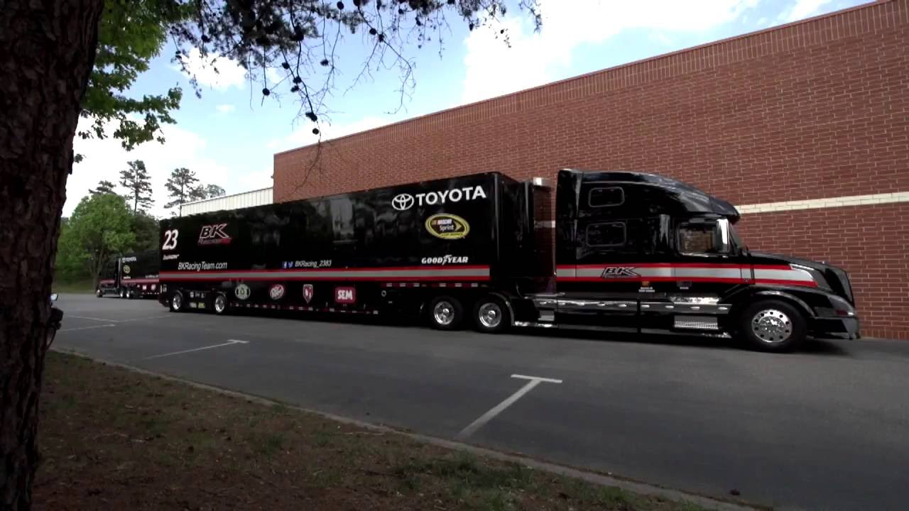 Life On The Road How Bk Racing Haulers Get To And From