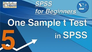 05 SPSS for Beginners - One Sample t Test
