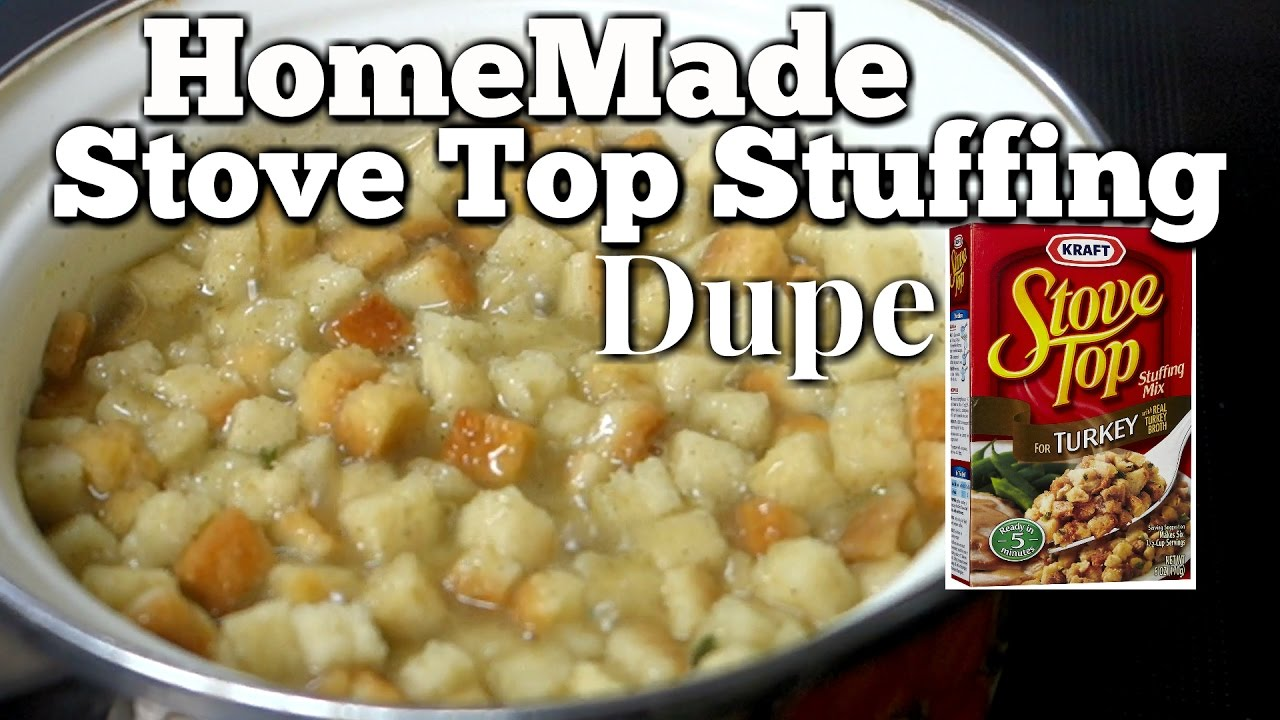 homemade stove top stuffing recipe dupe quick thanksgiving side
