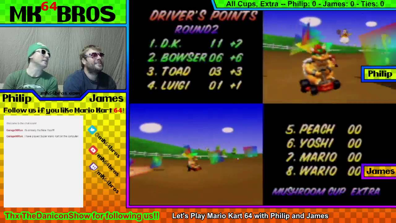 Dk Vs Bowser 150cc Mario Kart 64 All Cups