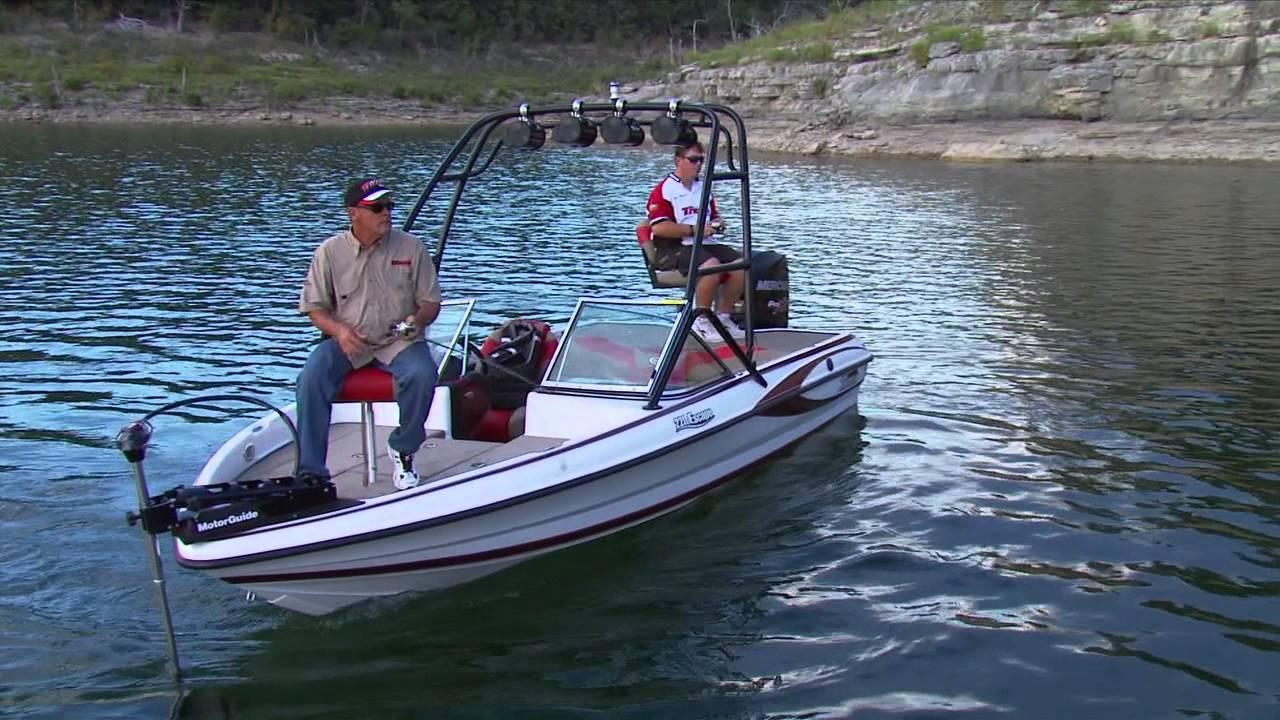 Triton escape series fishing features doovi for Triton fish and ski