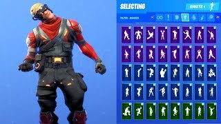CIRCUIT BREAKER SKIN SHOWCASE WITH ALL FORTNITE DANCES & EMOTES