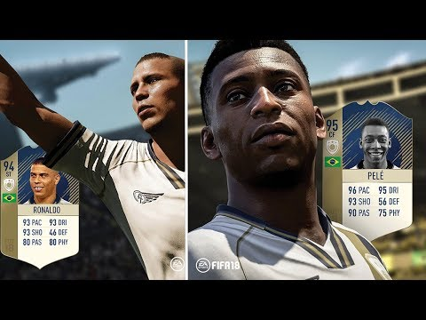 CONFIRMED FIFA 18 ICONS AND RATINGS!!