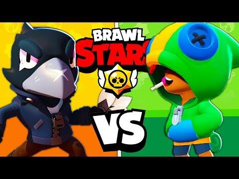 LEON VS CORVO - Chi è il miglior LEGGENDARIO?! Brawl Stars ITA