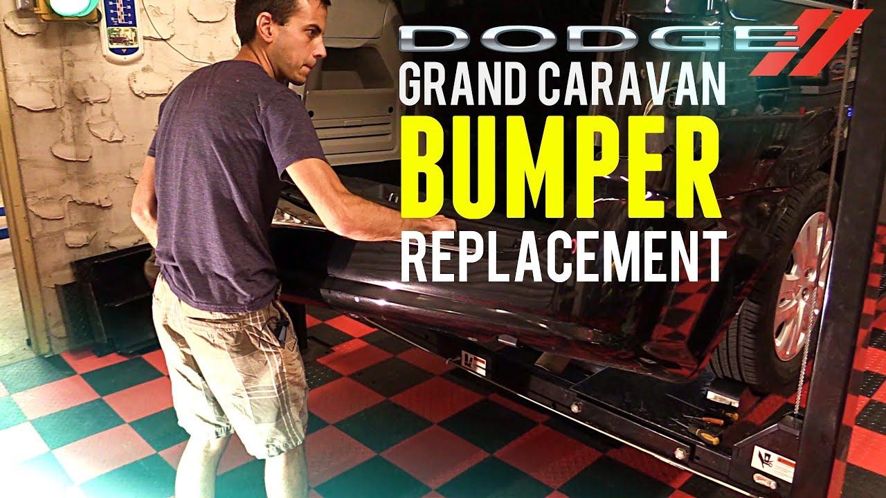 2011 2018 Dodge Grand Caravan Rear Bumper Removal Replacement