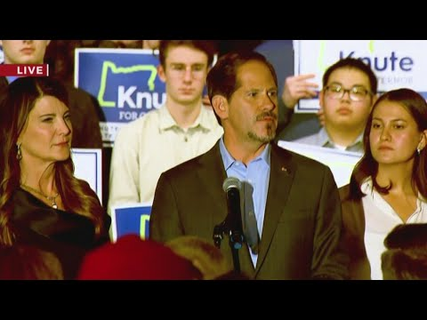 Knute Buehler concedes to Kate Brown in Oregon governor race
