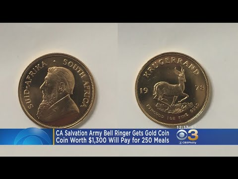 News Around The Lone Star State - Coin Dropped In Salvation Army Kettle Worth $1,300