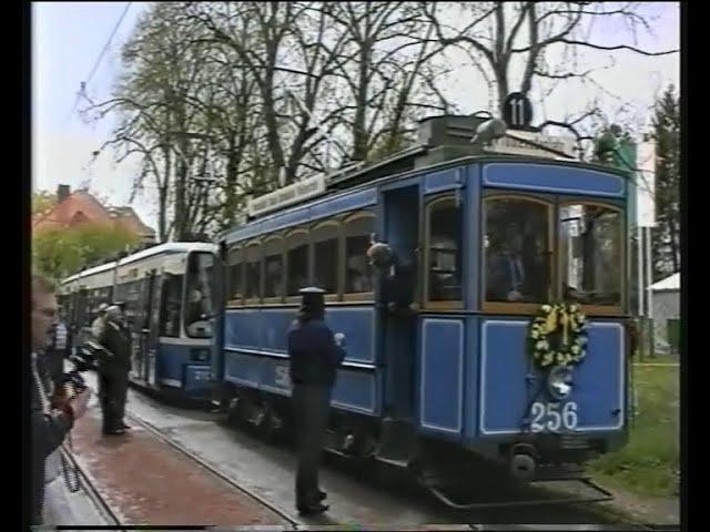 Mit dem A-Wagen rund um Grünwald 1995