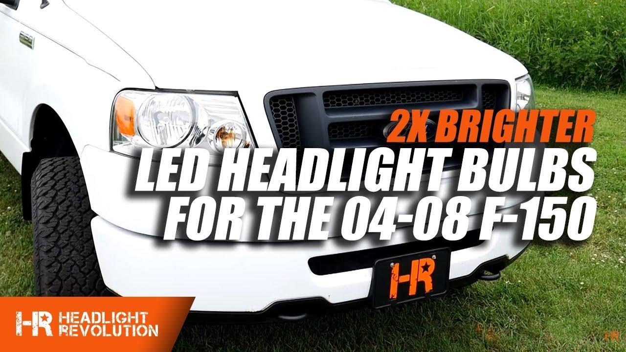 2004 2008 Ford F 150 Sv 4 Led Headlight Bulbs
