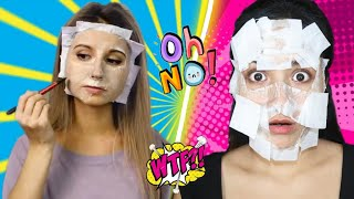 Testing Out *VIRAL* Beauty Hacks by 5 Minute Crafts ! *Shocking* | Nilanjana Dhar