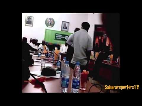 Nigeria Governor's forum election