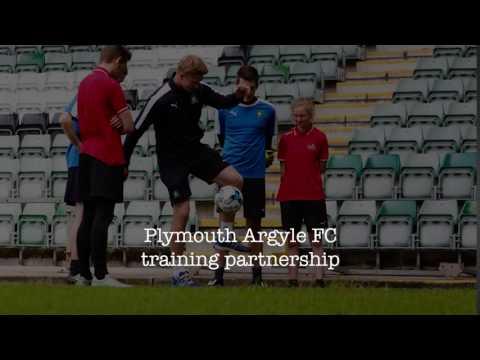 Duchy College Plymouth Argyle Football Club partnership