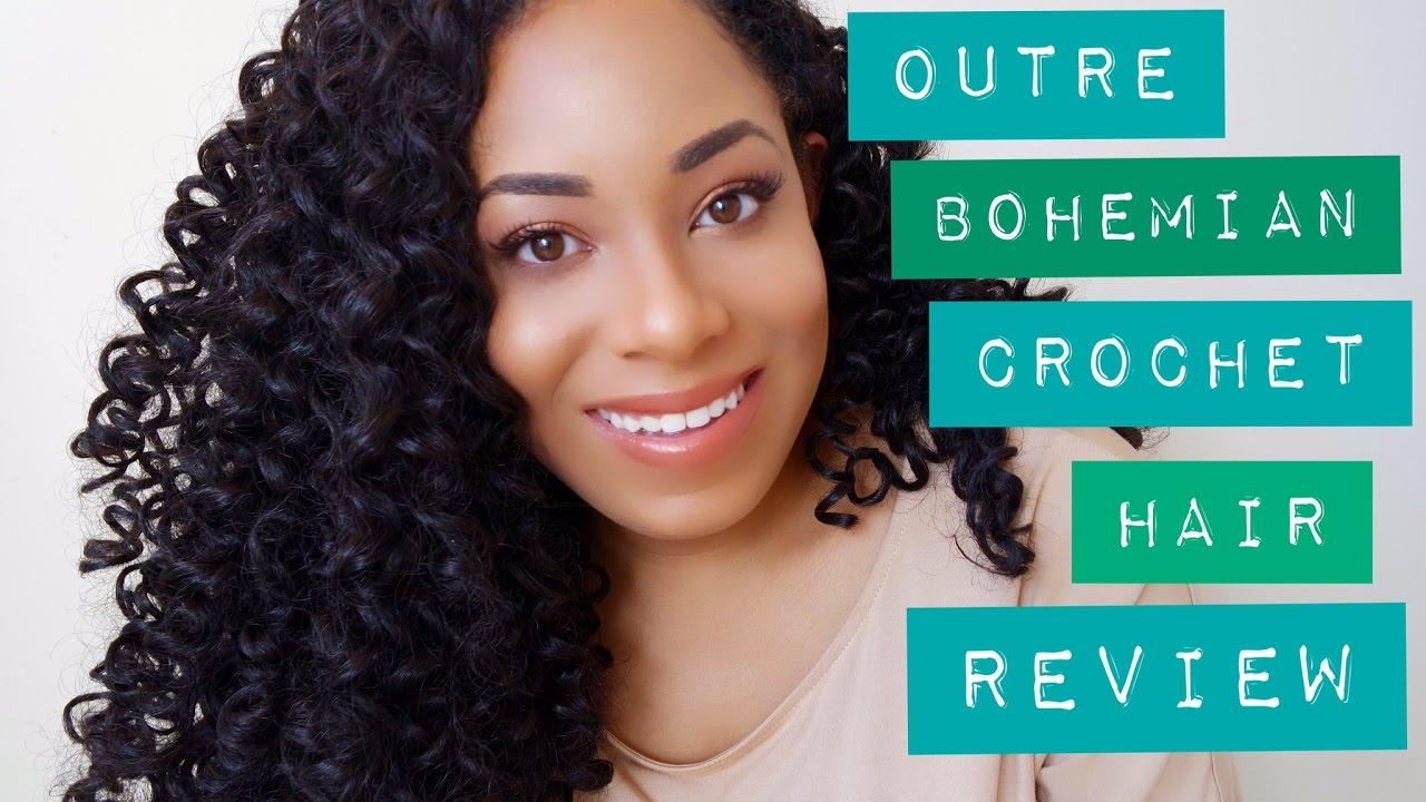 Outre Bohemian Curl Crochet Hair Review Comparison To