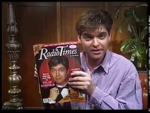 19 May 1991 BBC1 -  Phillip Schofield Radio Times ad & Dallas