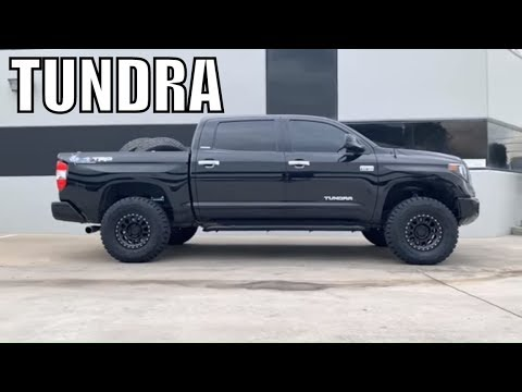 TOYOTA TUNDRAS on King Shocks Camburg UCA & Cali Lean