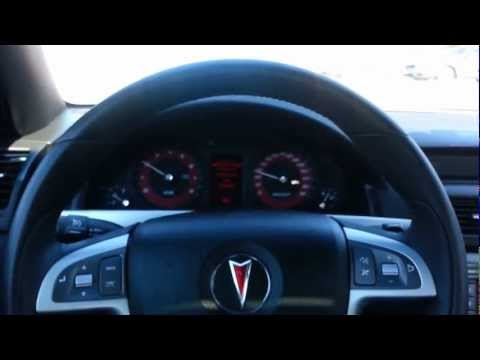 2009.5 Pontiac G8 GXP Acceleration