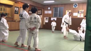 Judo Practice 26.12.2015, Tokyo, Japan