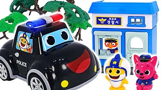 Pinkfong Police Car! Pororo catches a jewel thief! | PinkyPopTOY
