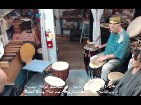 Tuesday drumming meditation clinic 3.8.16