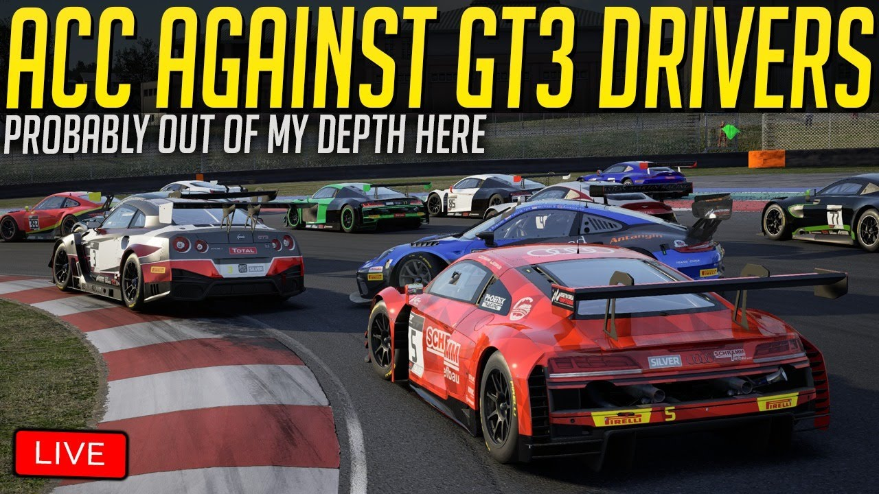 Assetto Corsa Competizione Against Real GT3 Drivers