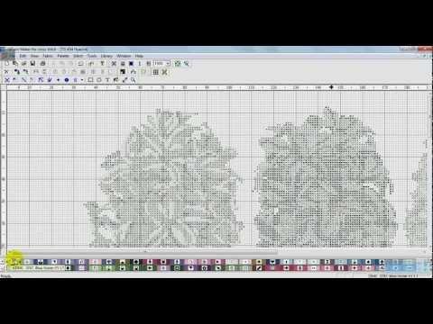 Видео-урок об использовании программы РМ4 для вышивки