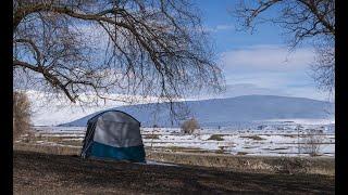Kış Kampı (Winter Camp) 5: Arpenaz Base M Gölgelik Çadır,  Sac Kavurma