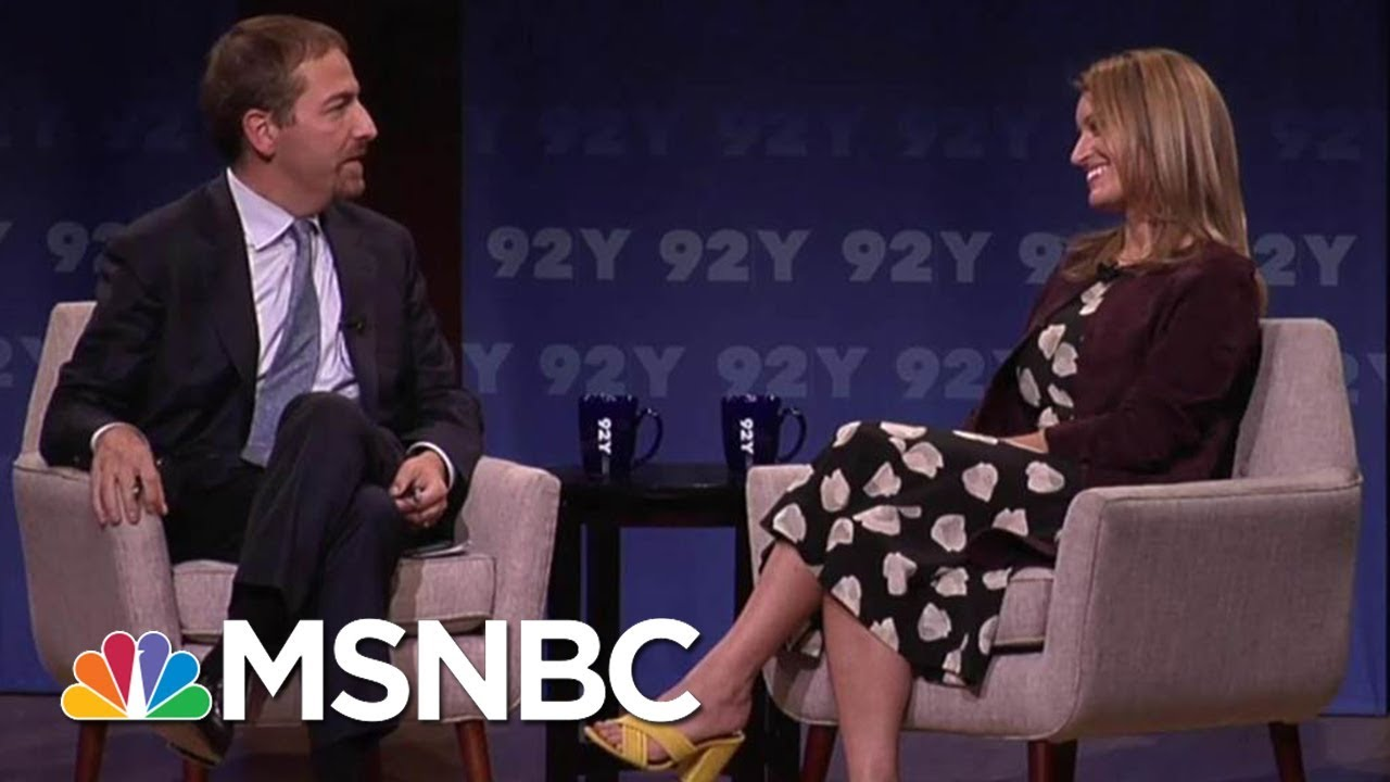 Katy Tur Talks With Chuck Todd About 'Unbelievable', Covering Donald Trump And More (Full)
