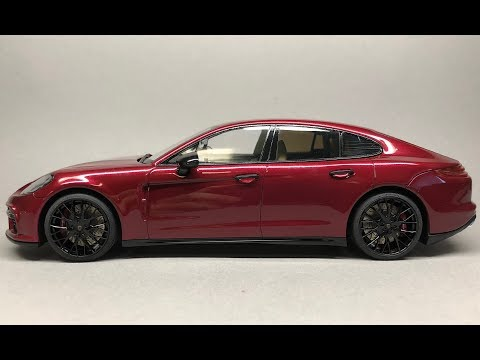 Revell: Porsche Panamera Turbo Full Build Step by Step