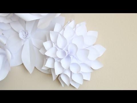 Paper Flower Backdrop: Flower #2