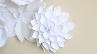 Paper Flower Backdrop: Flower #2