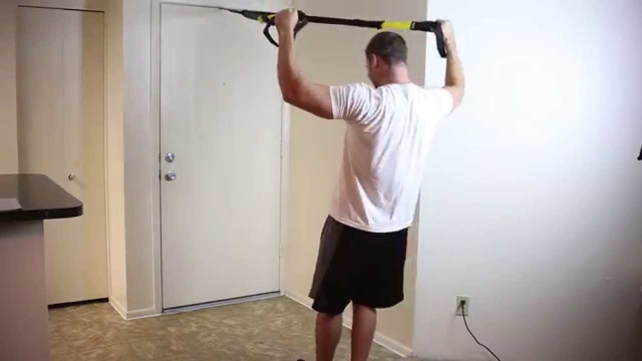 Trx band workout complete 20 minute full body workout for 10 minute trainer door attachment