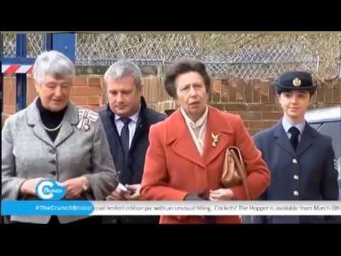 HRH The Princess Royal Opens Digitech Studio School