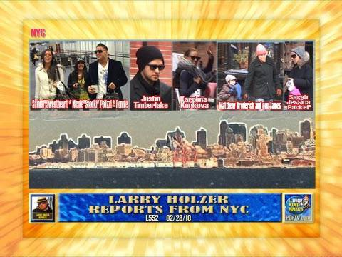 JERSEY SHORE'S SNOOKI L552 LARRY HOLZER REPORTS FROM NYC 02/