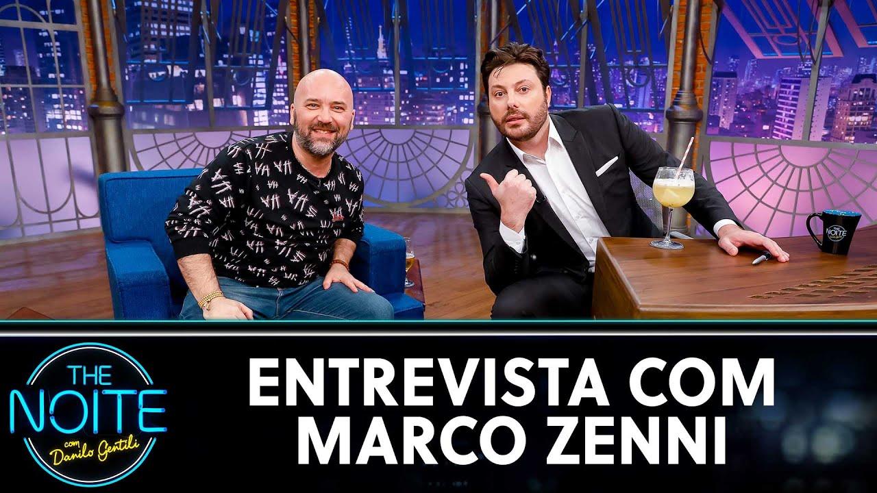 Entrevista com Marco Zenni   The Noite (12/08/20)