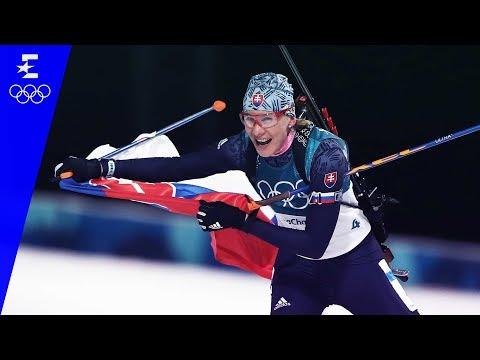 Biathlon | Women's 12.5km Mass Start Highlights | Pyeongchang 2018 | Eurosport