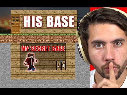 How Long Can I Live In Someone's Base Before They Notice? | Minecraft Home Invasion E1