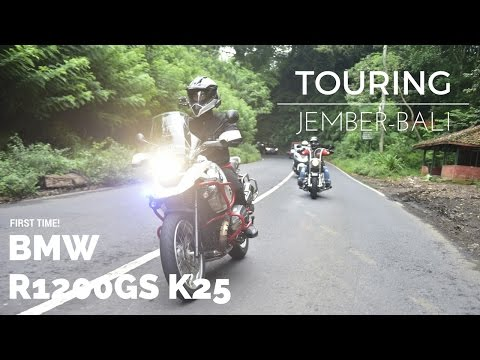 Touring Jember-BALI! - R1200GS K25 #motovlog Indonesia