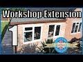 Building a Cheap Workshop Extension (Part 1 of 2)
